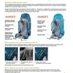 RUCSAC LOWE ALPINE DIRAN 65 - 75 L