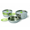 SET DE VASE INOX PINGUIN DUO STEEL L