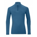 BLUZA CORP ORTOVOX MERINO 230 COMPETITION ZIP NECK MEN